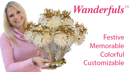 wanderfuls centerpieces