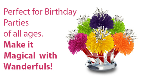 Birthday Parties Centerpieces for all ages!