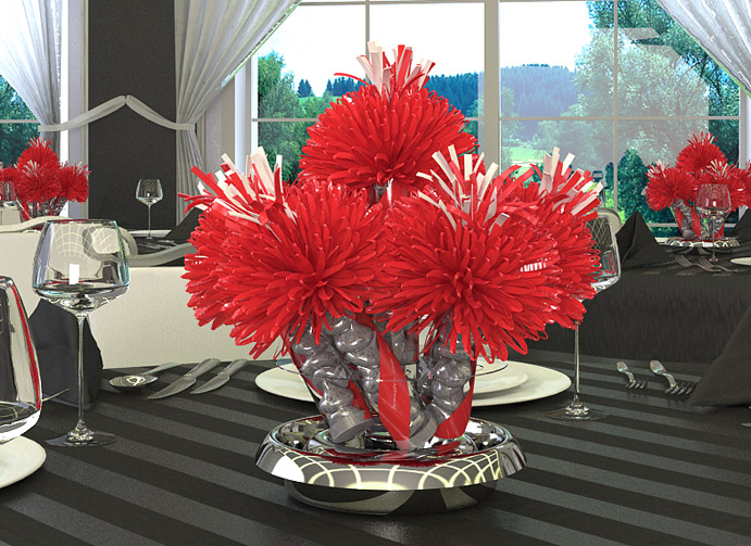 Adult Birthday Party Centerpieces