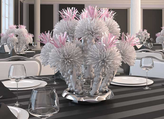Wedding Centerpieces and Party Favors Like flowers but better