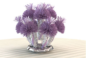 Lavender Wedding Centerpiece