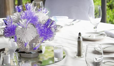 Wanderful Bouquets on Table