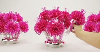 Hot Pink Bouquets Assembly